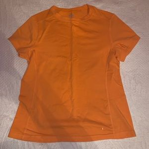 Orange Workout Top